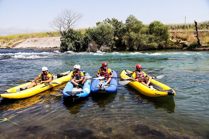 Rafting in Bistrica River and Ionian Sea,15 min from Saranda (ARG)