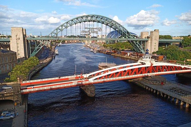 Some of Newcastle's bridges.