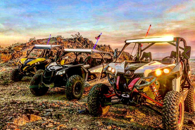 19-Mile Jackrabbit Tour for 8 with Can-Am Maverick (2, 2, & 4 seaters)