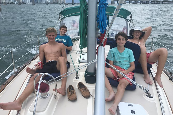 Three-Hour Private Day Sailboat Tour On Biscayne Bay For Up To Six photo 2
