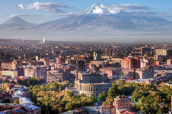 PRIVATE Guided walking tour around Yerevan
