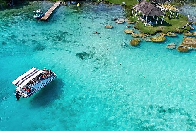 Fascinating tour to the Seven Colors Lagoon and the Pirate's Trail in BACALAR! photo 1