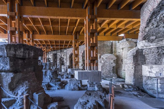Skip the Line: Colosseum Underground Tour Ticket