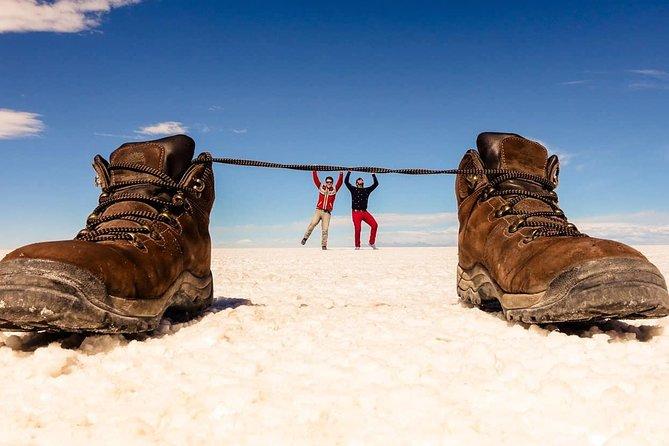 Uyuni Salt Flat | Island of IncaHuasi | Train cemetery |