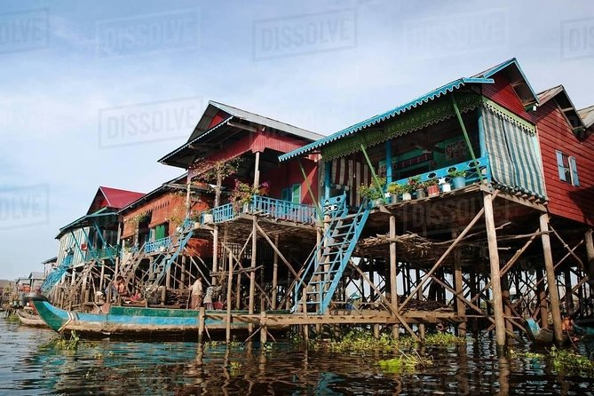 Floating Village Shared Tour (Kompong Pluk) sun set