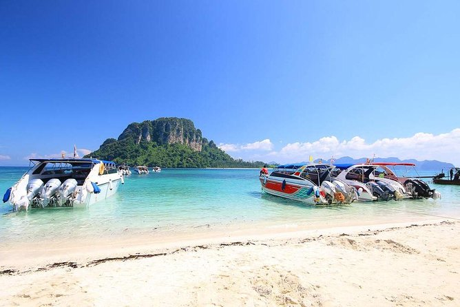 4 Islands Day Trip By Speed Boat