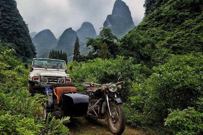 WILD COMBO: Private tour in nature by jeep and sidecar