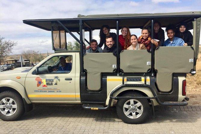 Open Vehicle Safari Vehicle - Kruger National Park