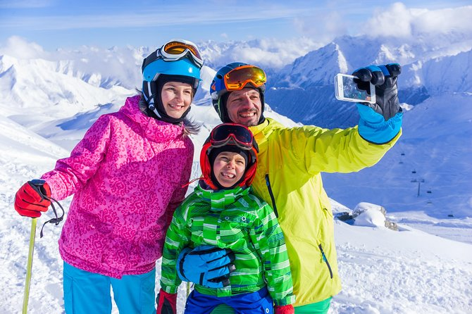 Hakodateyama Snowplay or Ski One Day Tour from Osaka
