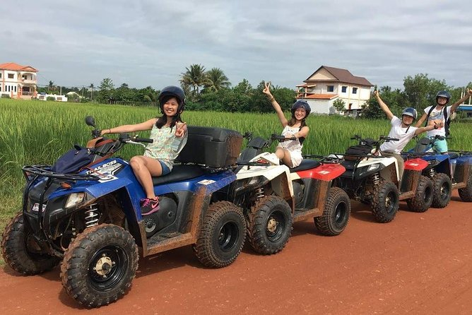 Siem Reap Quad Bike Countryside Sunset Tour for 1 hour driving