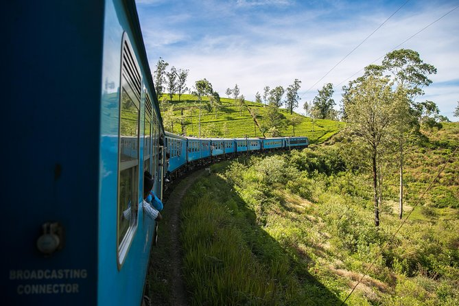 Train Ticket Reservation from Kandy to Ella, Nanu Oya, and Badulla