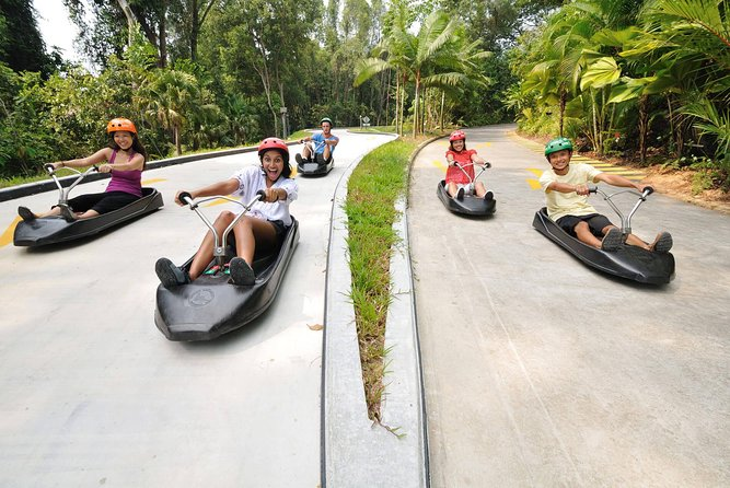 Skyline Luge Sentosa Rides 4 Rounds