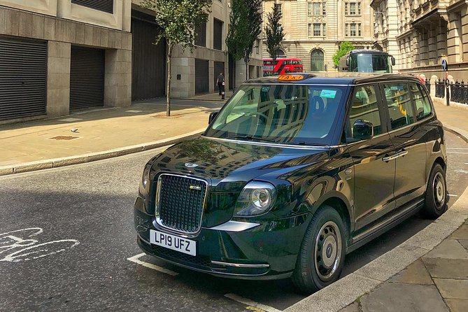 Private London Electric Black Cab Highlights Tour