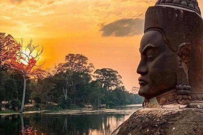 VIP Private Sunrise Angkor Day Tour (Sunrise, Angkor Wat, Bayon, Ta Prohm)