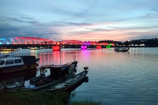 Sunset on Perfume River in Hue