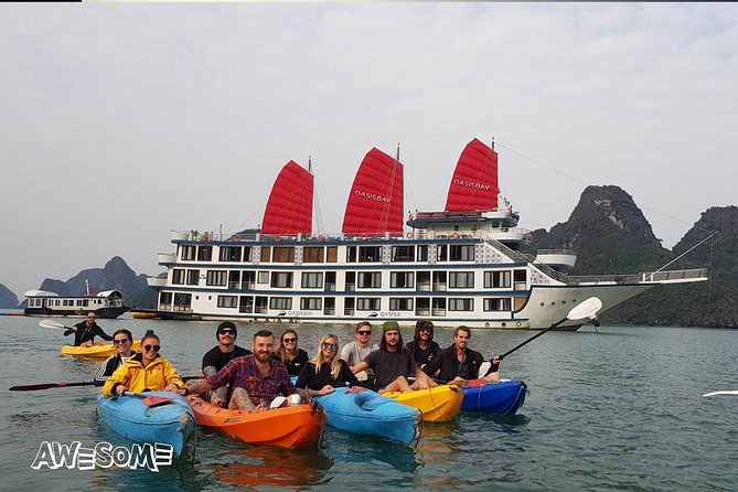Oasis Bay Party Cruise- Best Halong Bay Cruises for Young Traveler with Live Dj