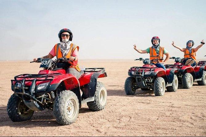 Desert & Sunset Safari with Bedouin Experience