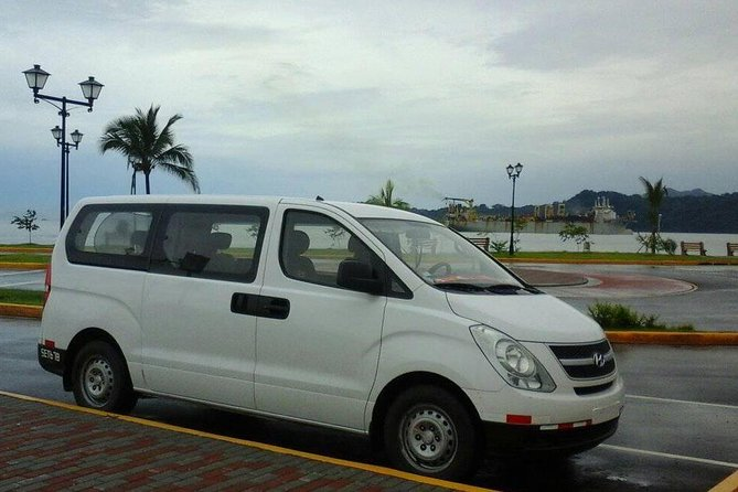 Transfer from Tocumen Airport to Playa Blanca Hotels.