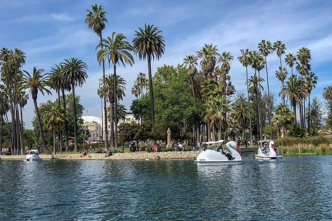 Swan Boat Rental in Echo Park