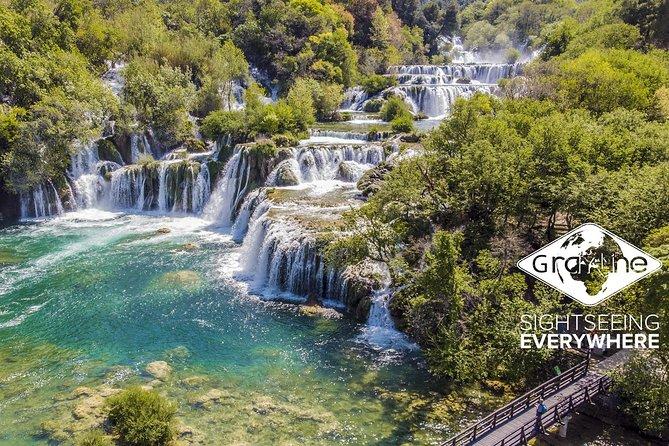 Tour giornaliero delle cascate di Krka da Spalato e Traù