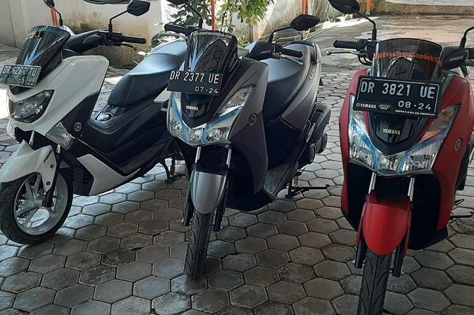 Rental Motor Bike Yamaha Lexi in Lombok Airport