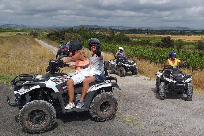 Quad bike ride in the Camargue
