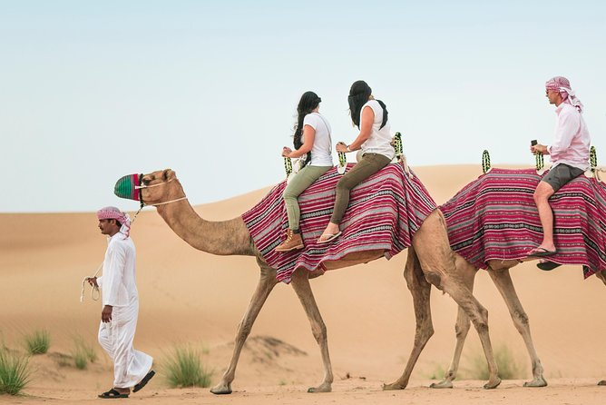 Camel Trekking Dubai with Dune Bashing and Sand Boarding