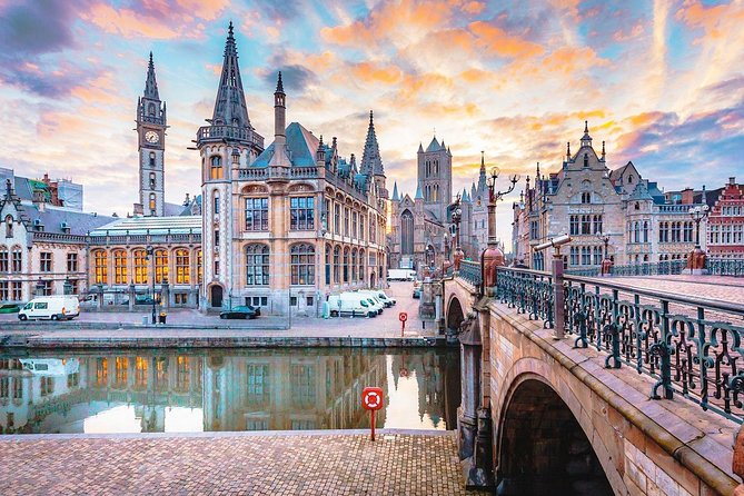 Full-day Private Tour Ghent And Bruges With Limo