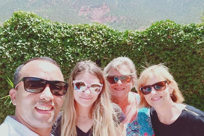 Marrakech Highlights : Dar El Bacha Palace , Secret Garden & Souks :Private Tour