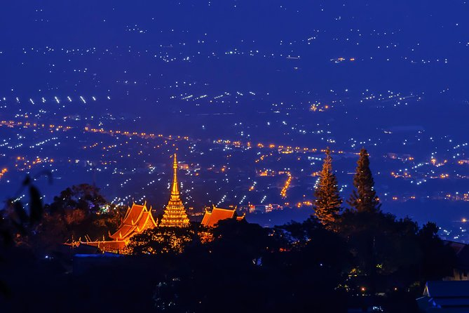 Private Tour: Chiang Mai Wat Umong and Doi Suthep by Night