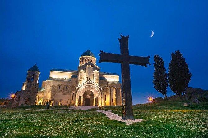 Private Tour to Prometheus Cave- Sataplia Cave-Bagrati Cathedral-Mowameta church