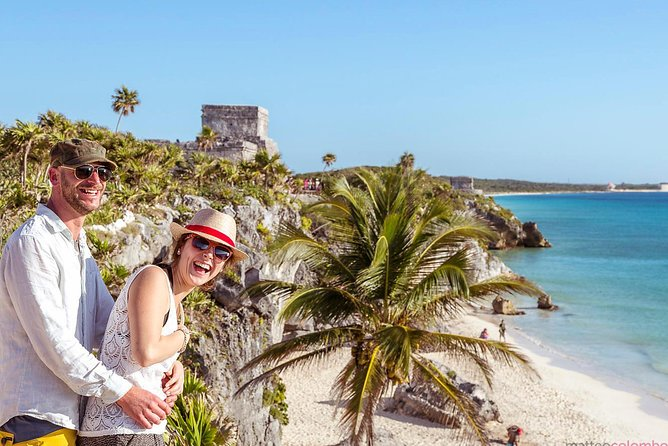 4 Places One Price: Tulum, Coba, Cenote and Playa del Carmen Tour from Cancun
