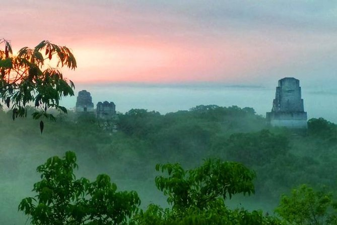 Tikal Sunrise tour from Flores