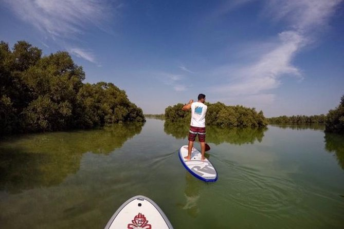 Abu Dhabi Mangroves Stand-Up Paddle Board Guided Tour photo 9
