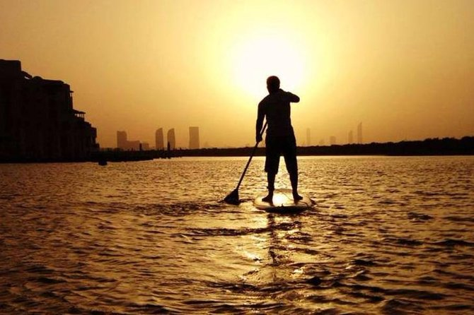 Abu Dhabi Mangroves Stand-Up Paddle Board Guided Tour photo 8