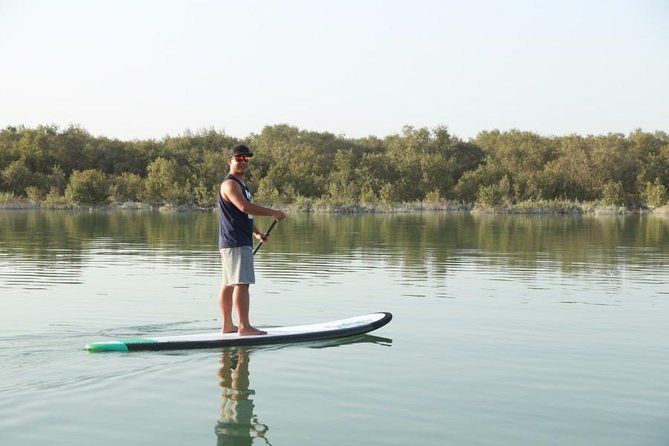 Abu Dhabi Mangroves Stand-Up Paddle Board Guided Tour photo 3