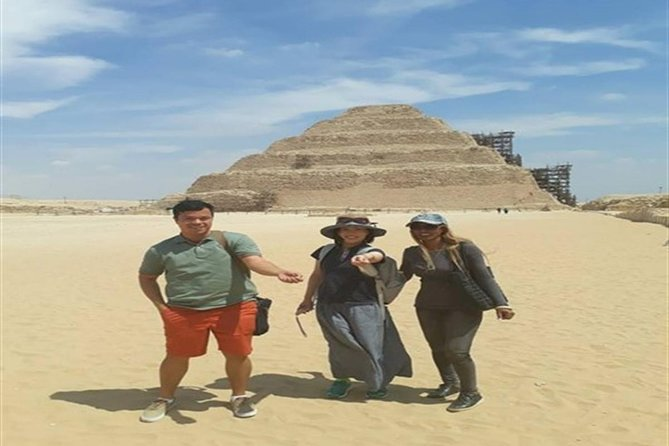 Tour: Giza pyramids and Saqqara and Dahshur