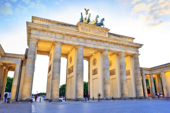 Private Half-Day Berlin Sightseeing Tour with a Minivan Including Short City Walks