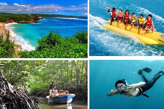 Tour(Sharing car) Nusa Lembongan Day Trip All-Inclusive