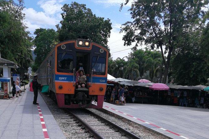 Death Railway Trail on the River Kwai & Train ride