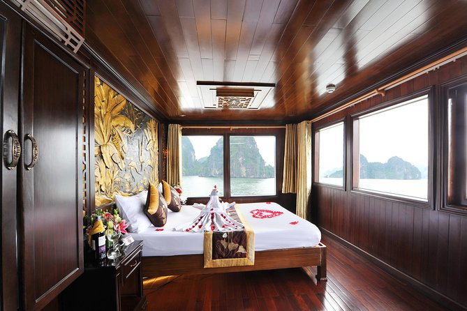 Halong Bay and Bai Tu Long Bay 2 days 1 night with Deluxe Renea Cruise