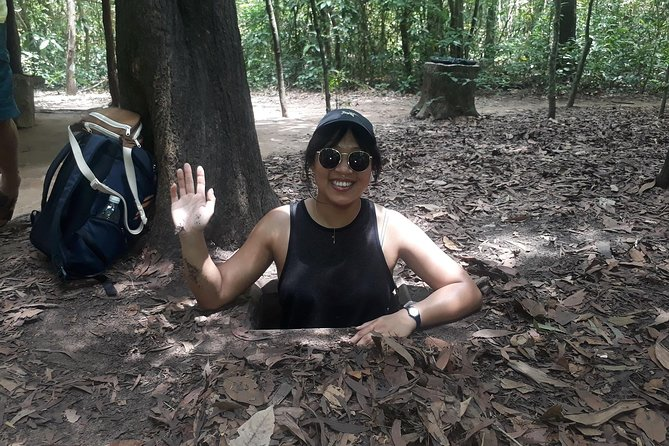 Cu Chi Tunnels By Scooter