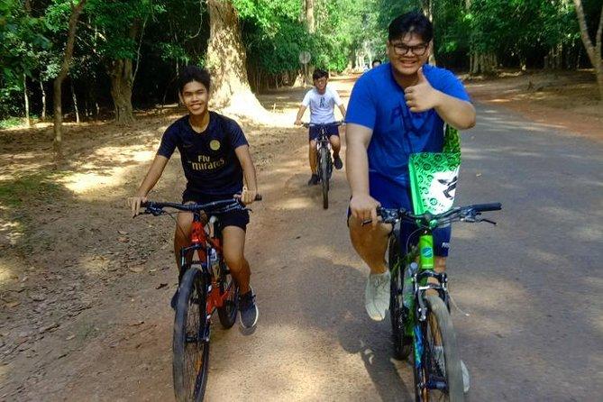 Angkor Wat Full Day Bike Tour Small Circuit