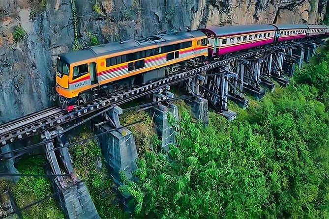 Death Railway-River Kwai Bridge Tour