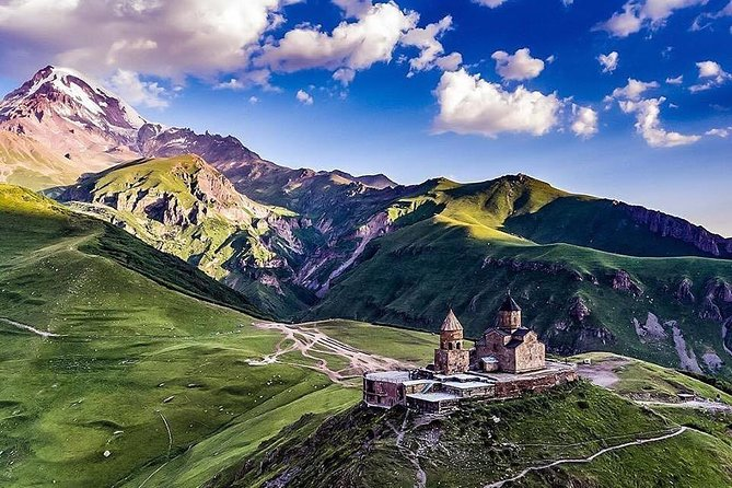 Kazbegi Mountain - Gudauri Ski Resort - Gergeti Monastery (1Day )