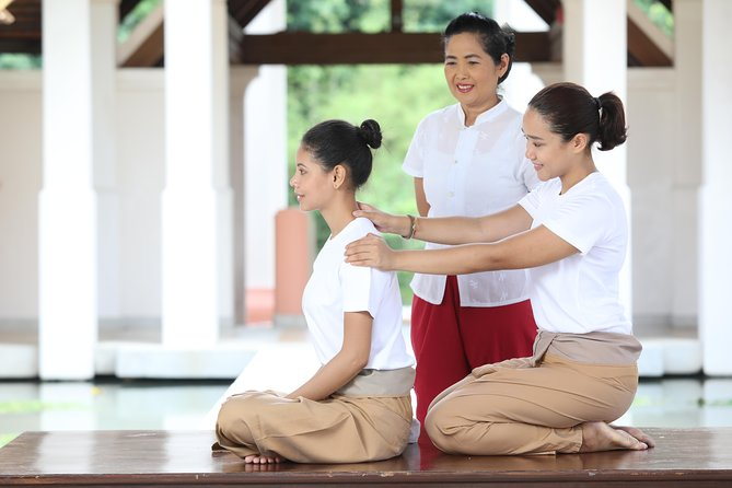 Head, Neck, Shoulder Massage Lesson 3 Hrs (Thai Massage)