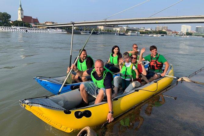Rafting trip accross Bratislava