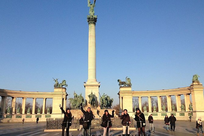 2. Heroes' Square Segway Tour Budapest
