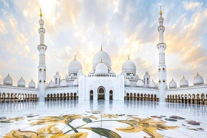 The Sheikh Zayed Grand Mosque Abu Dhabi Half-day Tour from Dubai