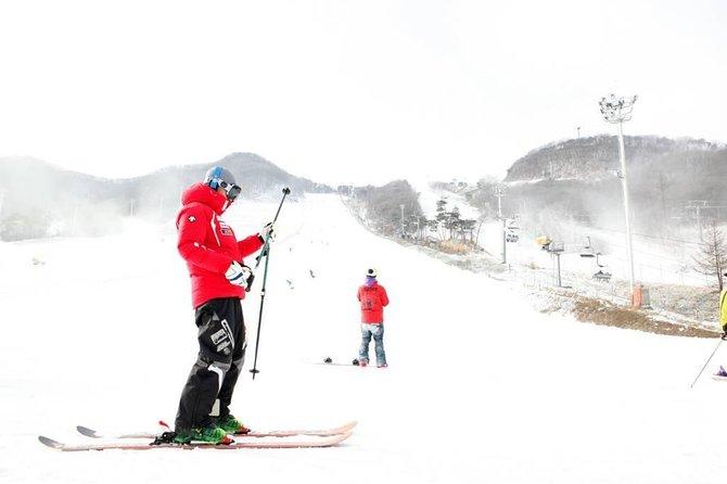 Ski Tour to Jisan Ski Resort or Yangji Ski Resort from Seoul